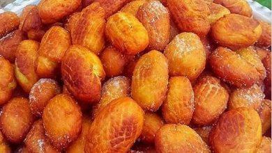 تصویر از طرز تهیه بژی شیرینی محلی کرمانشاه بسیار خوشمزه