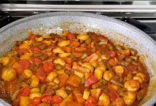 تصویر از طرز تهیه خورش سبزیجات رژیمی و مقوی بویژه برای گیاه خواران