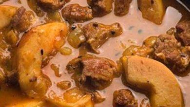 تصویر از طرز تهیه طاجین گوشت و به آموزش غذای مراکشی لذیذ و خوشمزه