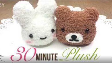 تصویر از دوخت عروسک پولیشی خرگوش و خرس