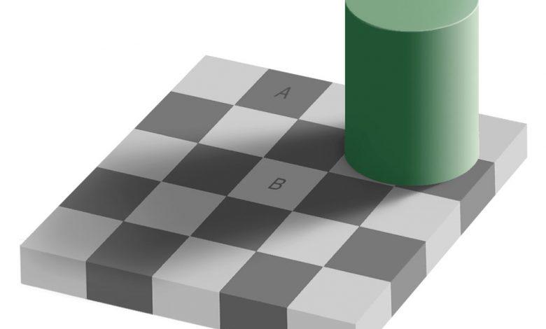خطای دید | سایه ی شطرنجی ادلسون