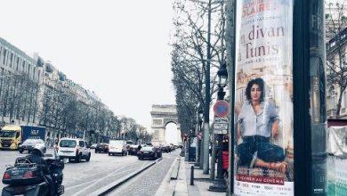 تصویر از عکس گلشیفته فراهانی در نقاط مختلف پاریس