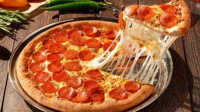 تصویر از طرز تهیه پیتزا پپرونی آموزش انواع پیتزا و غذاهای فست فودی