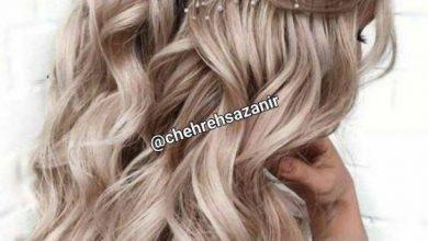 تصویر از فرم دادن به موهای بلند و بهترین آرایش موی باز + عکس