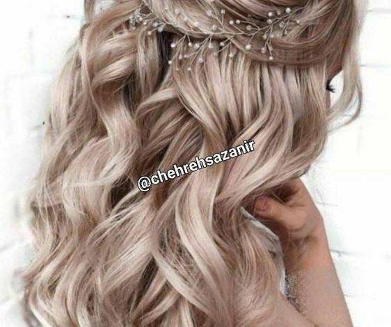 فرم دادن به موهای بلند و بهترین آرایش موی باز + عکس