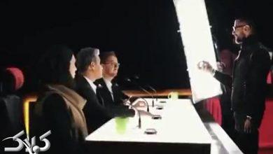 تصویر از گریم داوران و احسان علیخانی در پشت صحنه فصل دوم عصر جدید + ویدیو