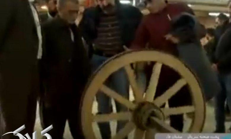 لوکیشن و پشت صحنه سریال سلمان فارسی + ویدیو