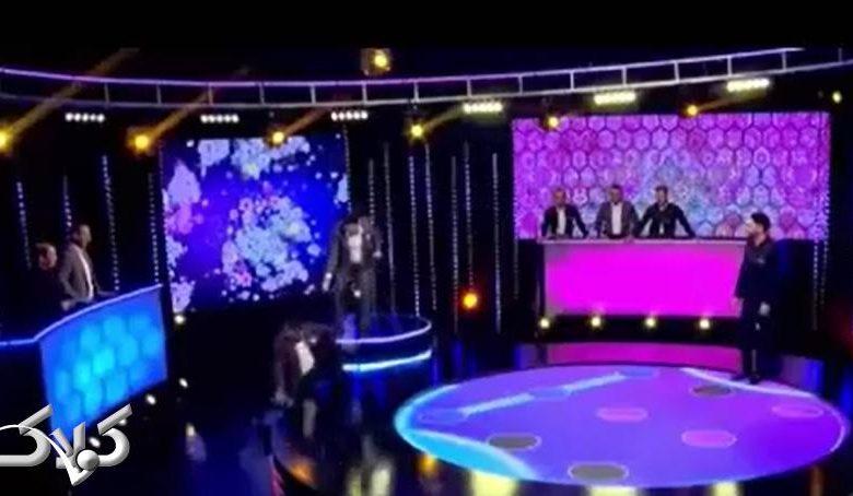 لحظه سقوط شرکت کننده مسابقه ایران سام درخشانی + فیلم حادثه در مسابقه ایران شبکه یک