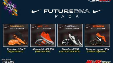 تصویر از پک کفش Nike Future DNA توسط AKC_47 برای PES 2017