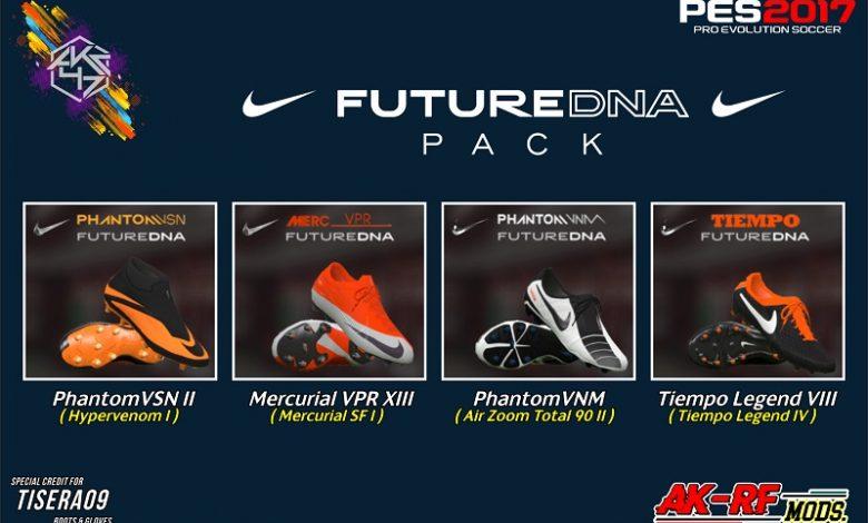 پک کفش Nike Future DNA توسط AKC_47 برای PES 2017