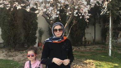 تصویر از گردش بهاری آزاده نامداری بدون چادر! عکس