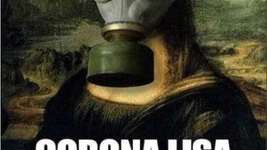 تصویر از جوک و طنزنوشته های خنده دار در مورد کرونا