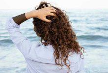 تصویر از عکس پروفایل دخترانه مو فرفری