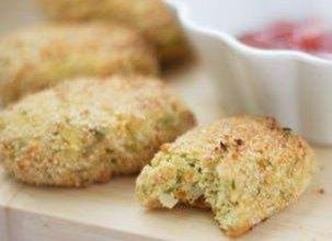 تصویر از طرز تهیه ناگت مرغ و سبزیجات رژیمی غذای ساده و خوشمزه