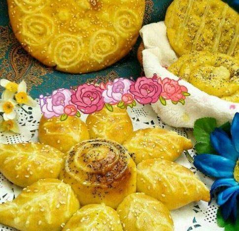 طرز تهیه نان شیرمال بدون فر در کیک پز یا در قابلمه