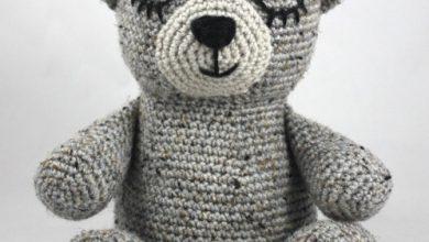تصویر از آموزش بافت عروسک خرس با قلاب
