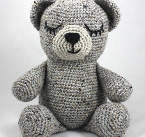 آموزش بافت عروسک خرس با قلاب