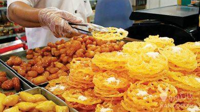 تصویر از زولبیا و بامیه | خوردنی های مشهور ماه رمضان