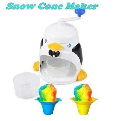 خرید دستگاه یخ پودر کن دستی طرح پنگوئن گرمای تابستان