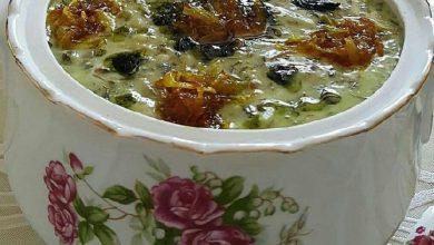 تصویر از طرز تهیه آش ماست غذای سنتی پرطرفدار با دستور پخت ساده