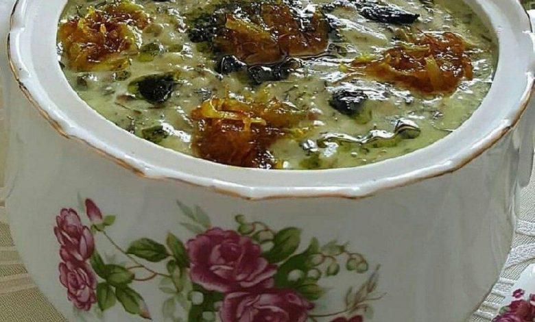 طرز تهیه آش ماست غذای سنتی پرطرفدار با دستور پخت ساده