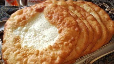 تصویر از طرز تهیه نان سنتی اردک یا اگردک آموزش نان محلی همدان