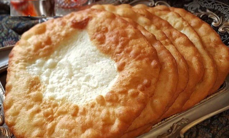 طرز تهیه نان سنتی اردک یا اگردک آموزش نان محلی همدان