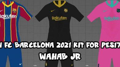 تصویر از کیت پک Barcelona 2020/21 توسط Wahab JR برای PES 2017