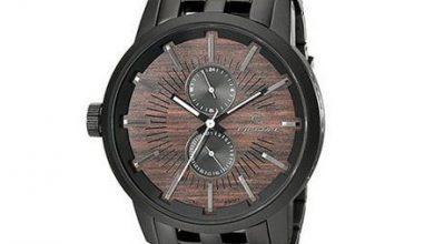 تصویر از زیباترین مدل ساعت مچی های مردانه از جنس چوب