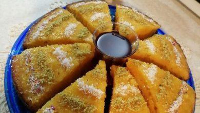 تصویر از طرز تهیه کیک خیس کاراملی بسیار لذیذ مناسب برای میان وعده