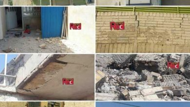 تصویر از تصاویر تخریب برخی ساختمان ها در زلزله ۵ ریشتری شهر دوگنبدان