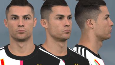 تصویر از فیس Cristiano Ronaldo توسط WER برای PES 2017