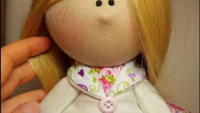 تصویر از آموزش کامل ساخت عروسک روسی