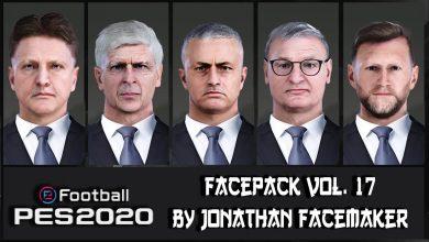 تصویر از فیس پک مربی برای مسترلیگ توسط Jonathan Facemaker برای Pes 2020