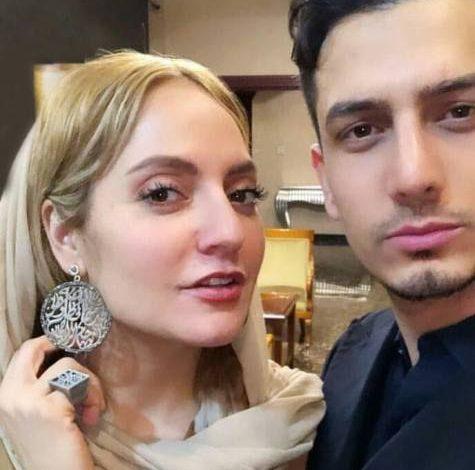 مهناز افشار در کنار برادر شوهر سابقش! عکس