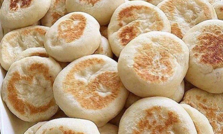 طرز تهیه مینی بازلاما آموزش نان ترکیه ای بدون نیاز به فر