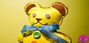 تصویر از آموزش تصویری دوخت خرس عروسکی