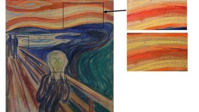 """تصویر از اتفاق عجیب برای تابلوی مشهور """"جیغ"""" در اثر تنفس رهگذران + عکس"""