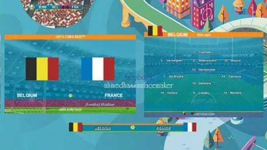 تصویر از اسکوربورد Euro 2020 توسط A.hassan برای PES 2013