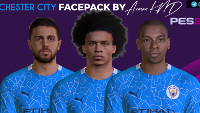 تصویر از فیس پک Manchester City توسط Arman KND برای PES 2017