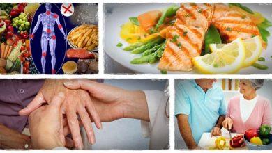 تصویر از آرتریت روماتوئید و رژیم غذایی