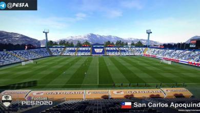 تصویر از استادیوم San Carlos de Apoquindo توسط Arthur برای PES 2020
