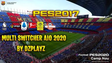 تصویر از Multi Switcher AIO 2020 توسط DZPLAYZ برای PES 2017