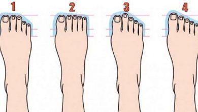 تصویر از شخصیت شناسی از روی انگشتان پا