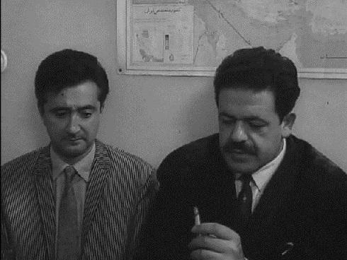 عکس محمدعلی کشاورز در اولین حضورش در سینما