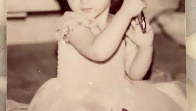 تصویر از عکسی عروسکی از بهنوش طباطبایی | عکس کودکی بهنوش طباطبایی