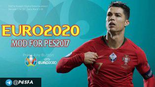 تصویر از مود EURO 2020 توسط DzPlayZ برای PES 2017
