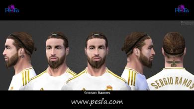 تصویر از فیس جدید Sergio Ramos برای PES6
