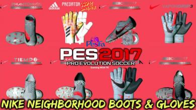 تصویر از کفش و دستکش NIKE NEIGHBORHOOD توسط Tisera09 برای PES 2017