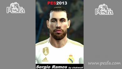 تصویر از فیس Sergio Ramos توسط chukwudi برای PES 2013